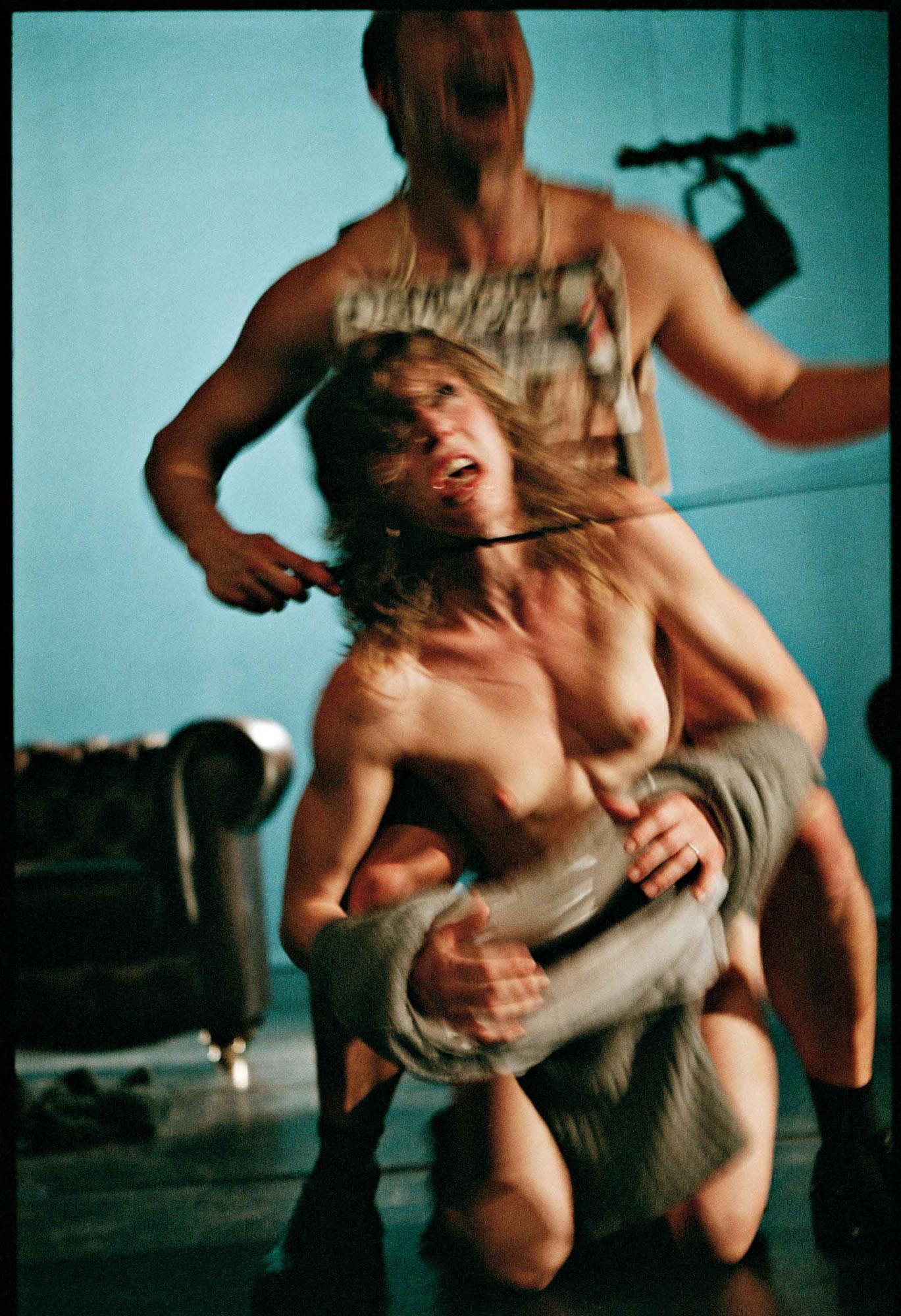 Lisbeth gruwez fabre nude oil dance - 2 6